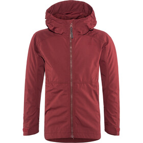 Lundhags Habe Jacket Kids dark red